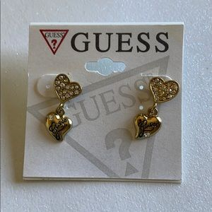 🚨 2/$20 Guess Heart Earrings